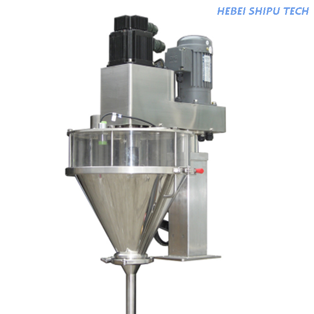 Automatic Tinplate Milk Powder Chicken Powder Can Bottle Filling Machine China Factory