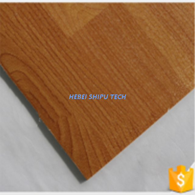 Dark Maple PVC Foam Sports Flooring Indoor Basketball Flooring
