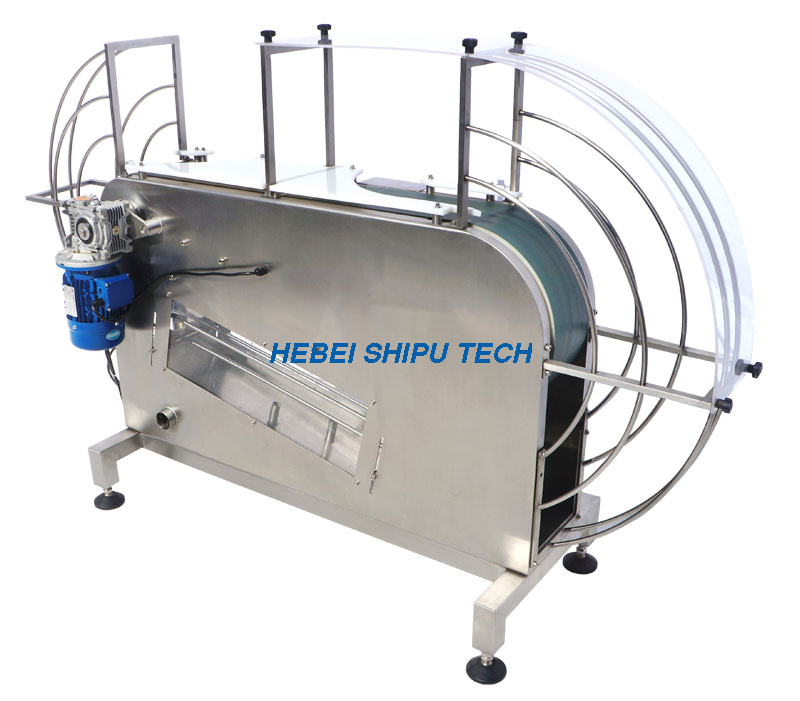 Milk Powder Can Turning, Degauss & Blowing Machine China Manufacturer