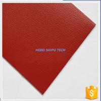 Red Diamond Grain Pvc Sports Floor for Indoor Sports Courts