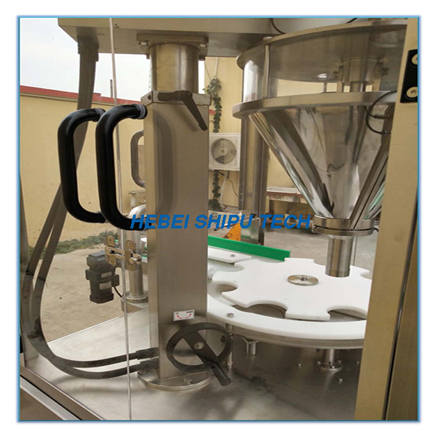 Automatic Protein Powder Bottle Filling Machine China Supplier