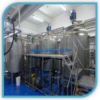SS316 SS304 Palm Oil Processing Line Emulsification Tank Homogenous Mixer China Manufacture